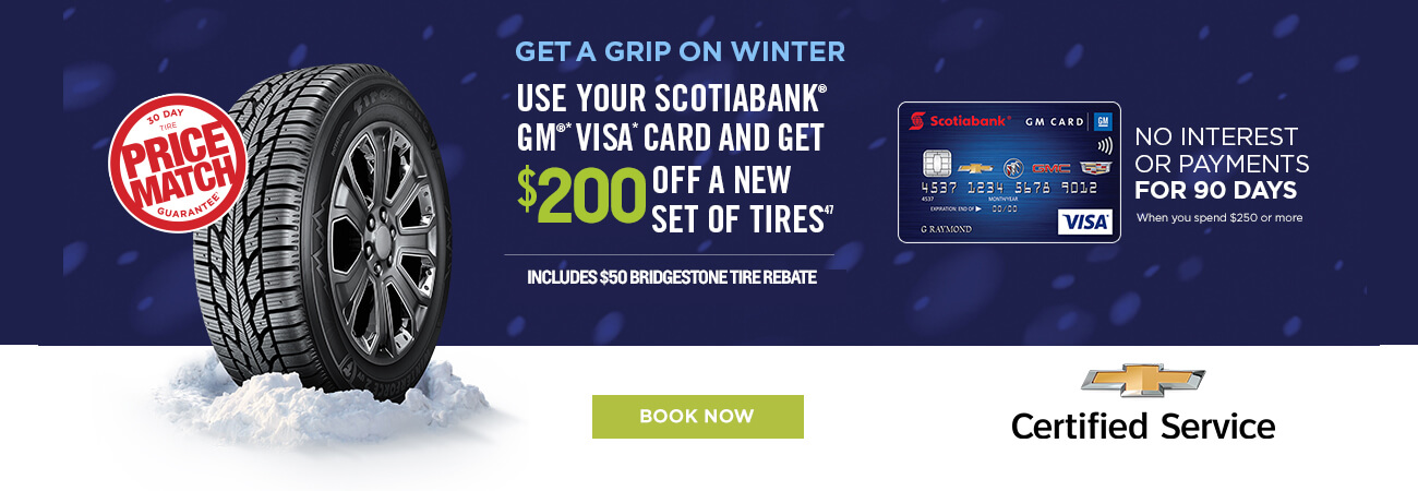 Save Up To $200 on Winter Tires
