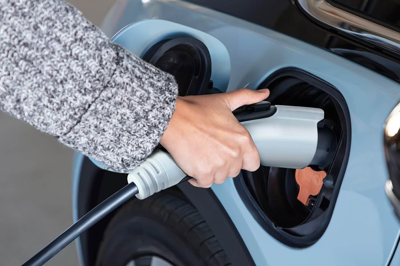 2022 Chevrolet Bolt EV Charging.
