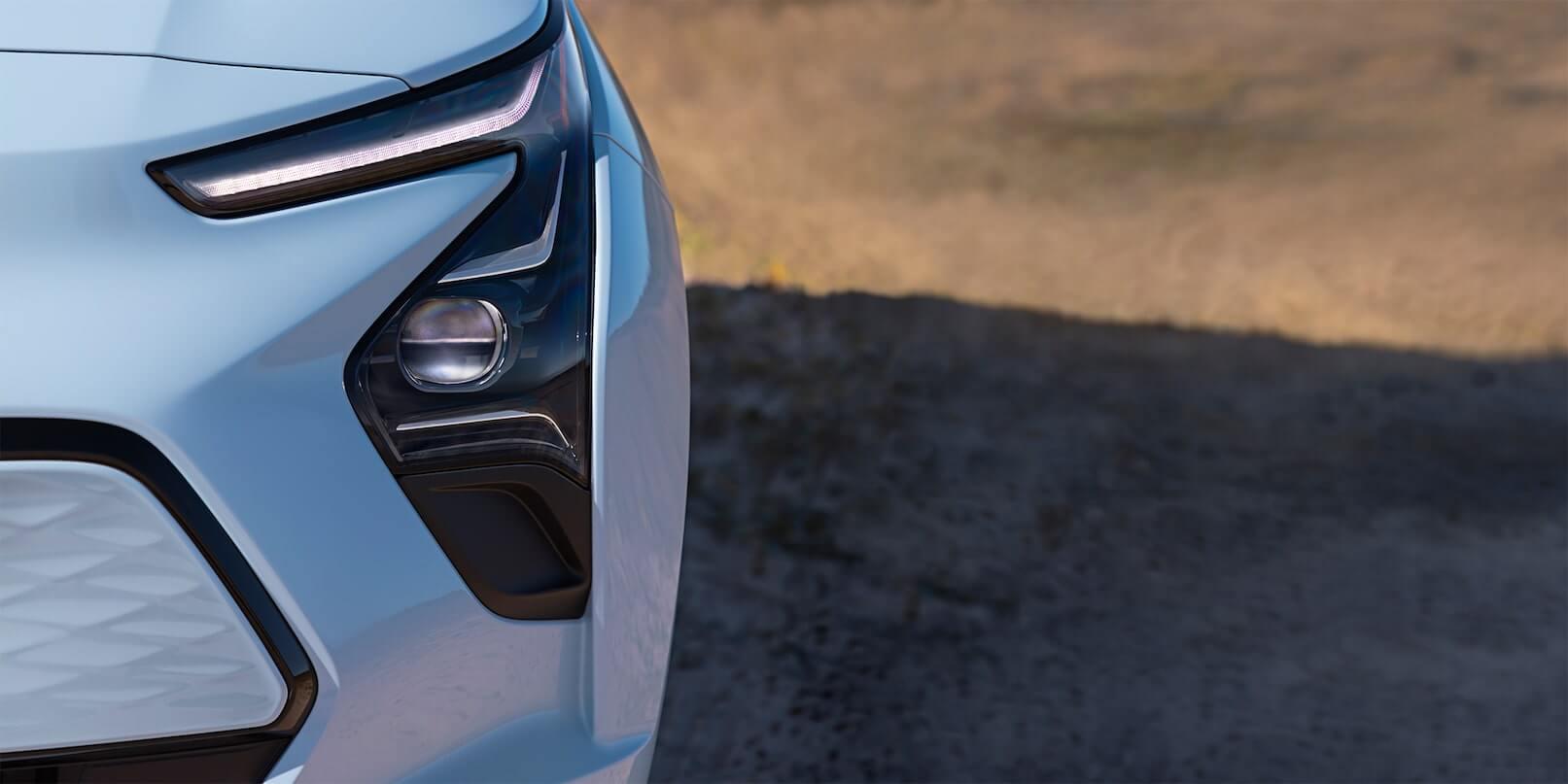 2022 Chevrolet Bolt EV headlights.