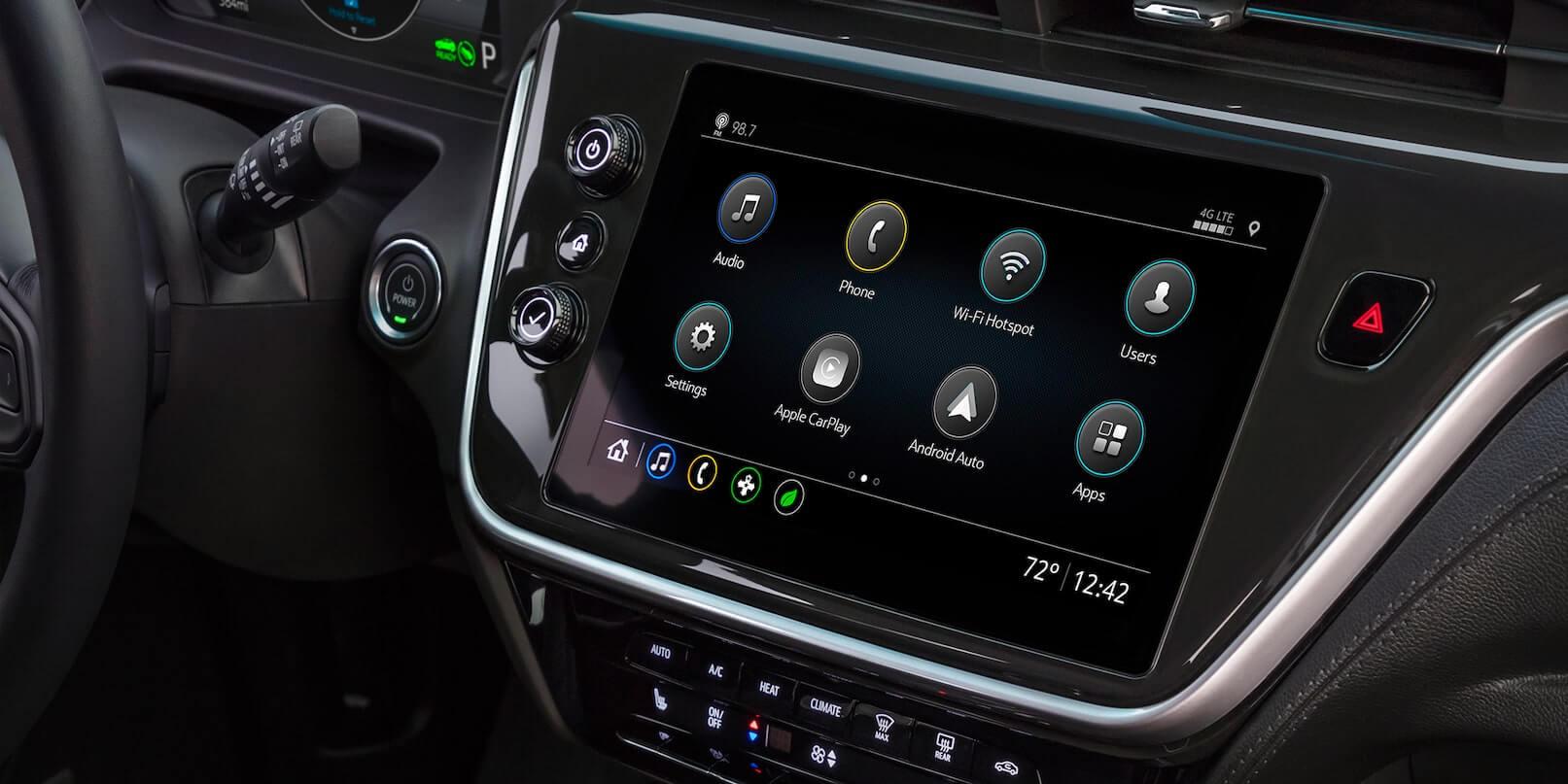 2022 Bolt EV infotainment system.