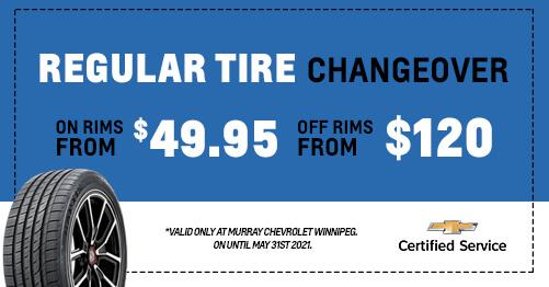 Regular Tire Changeover