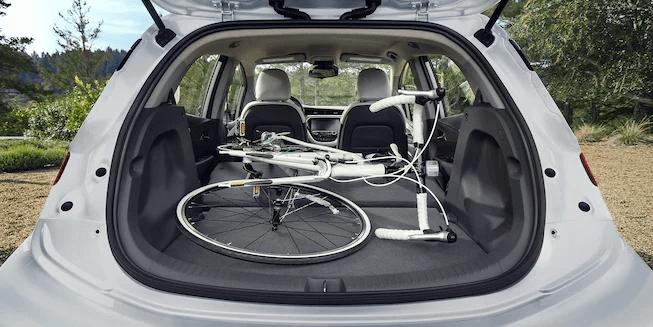 2021 Bolt EV Electric Car Cargo: Bike Storage.