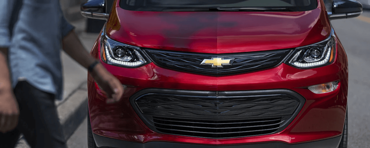 2021 Bolt EV Electric Car Design: Front View.
