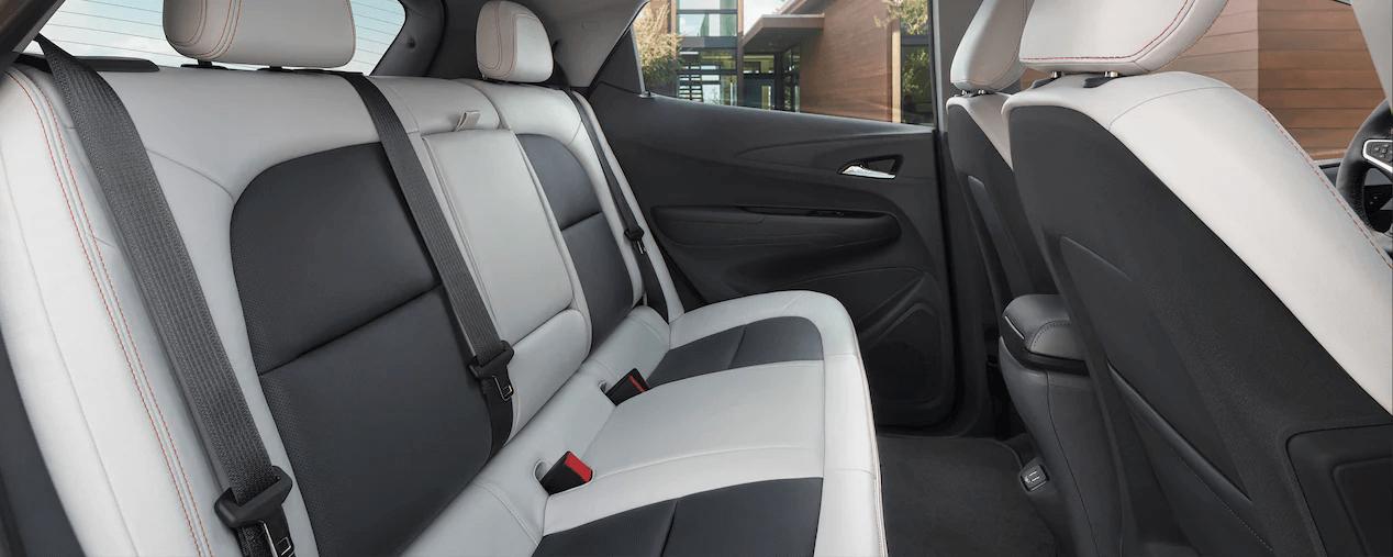 2021 Bolt EV Electric Car Design: Rear Seats.