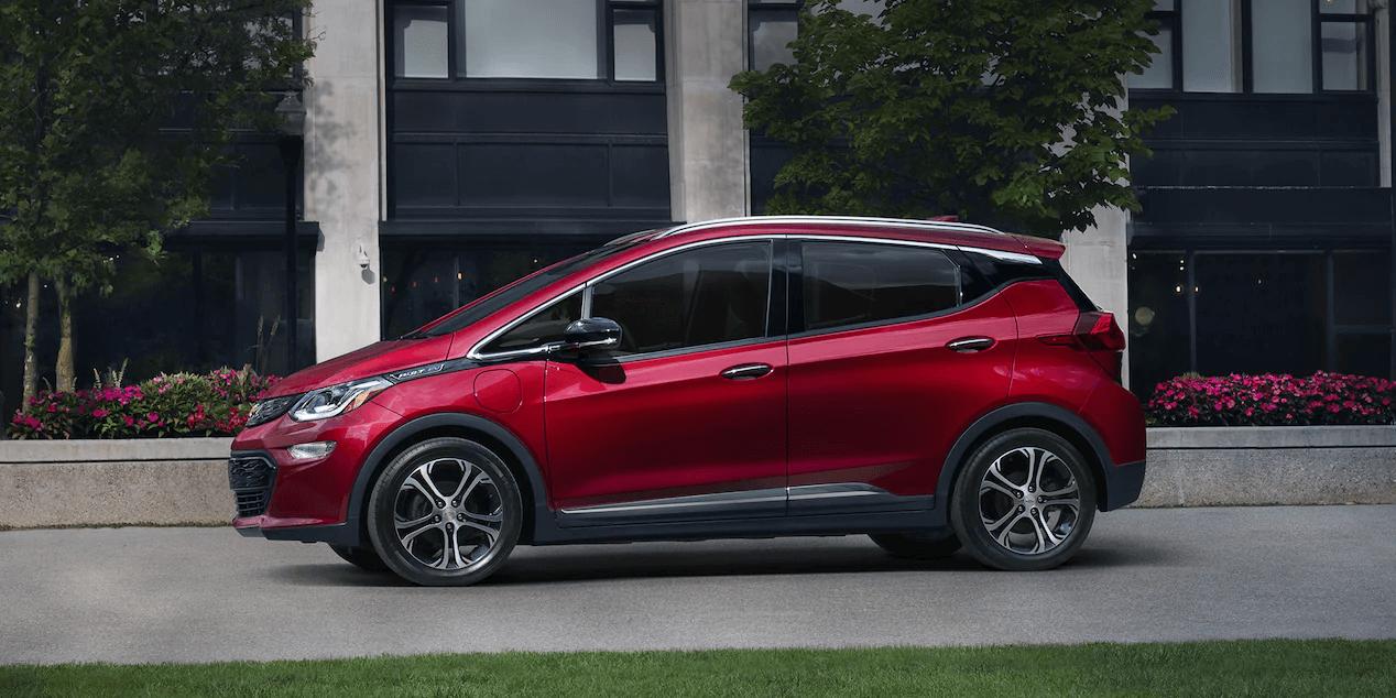 2021 Bolt EV Electric Car Exterior Photo: Side Profile.