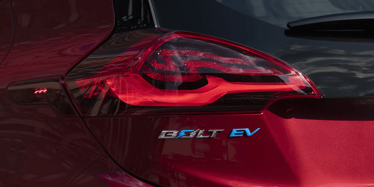 2021 Bolt EV Electric Car Exterior Photo: Tail Lamp.