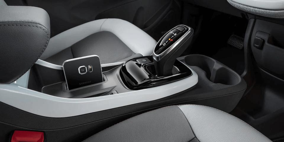 Chevrolet Bolt EV Electric Car Interior Photo: Center Console.