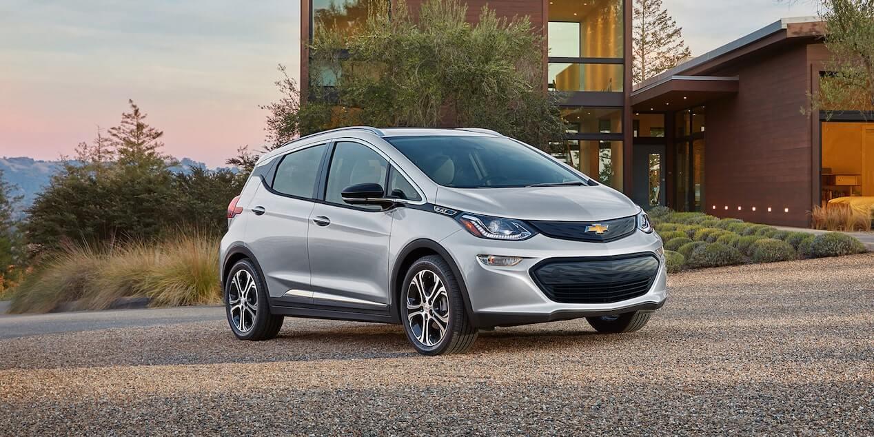 2020 Chevrolet Bolt EV.