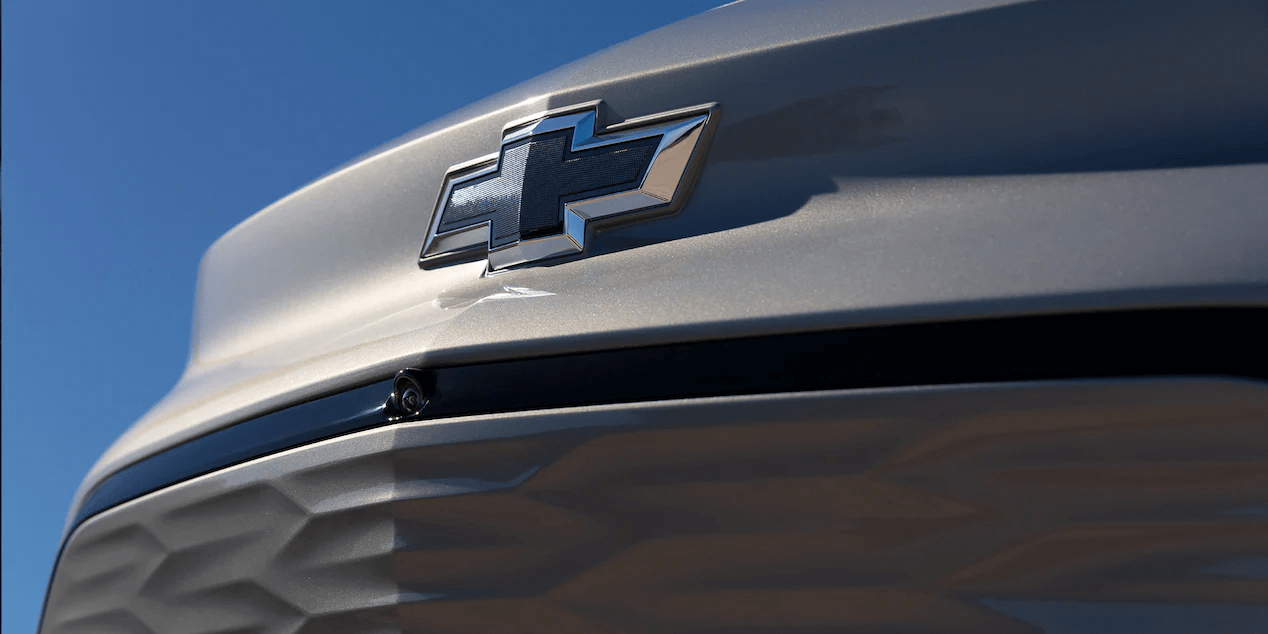 2022 Chevrolet Bolt EUV featuring a close-up view of the front bumper.