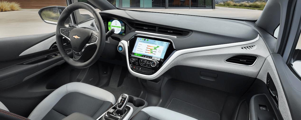 2021 Bolt EV Electric Car Design: Front Seats.