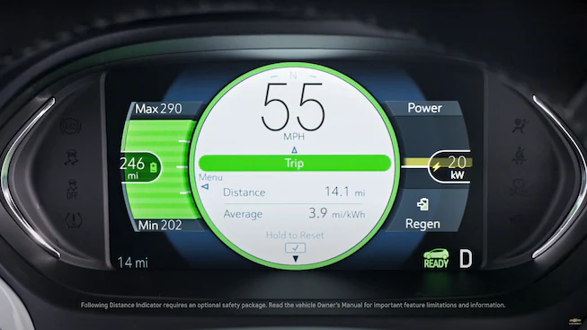 2021 Chevrolet Bolt EV Electric Car Technology: Vehicle Information.
