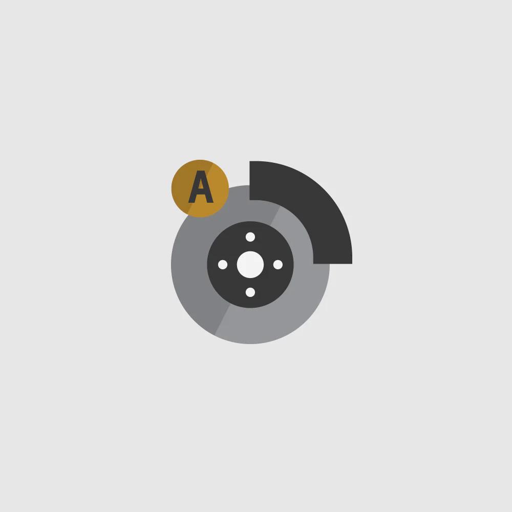 Low Speed Forward Automatic Braking Icon.