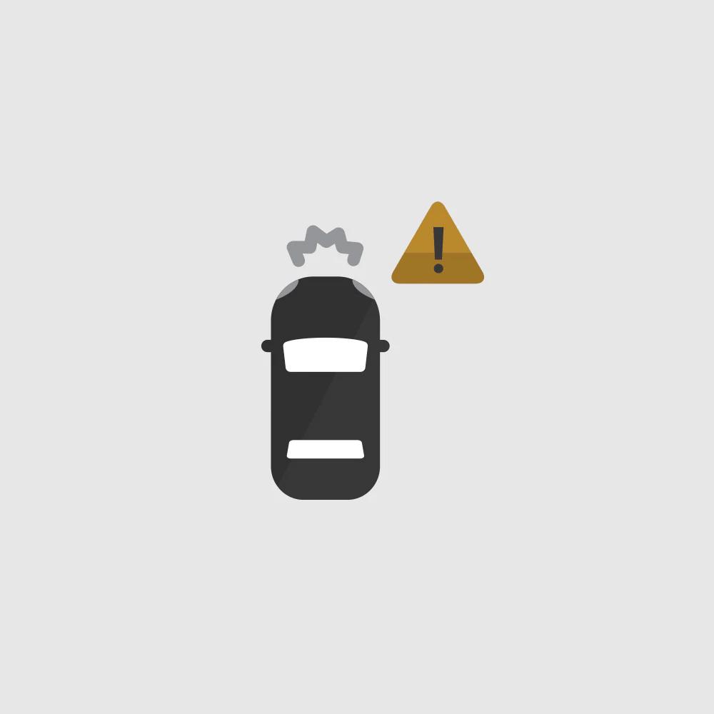 Forward Collision Alert Icon.