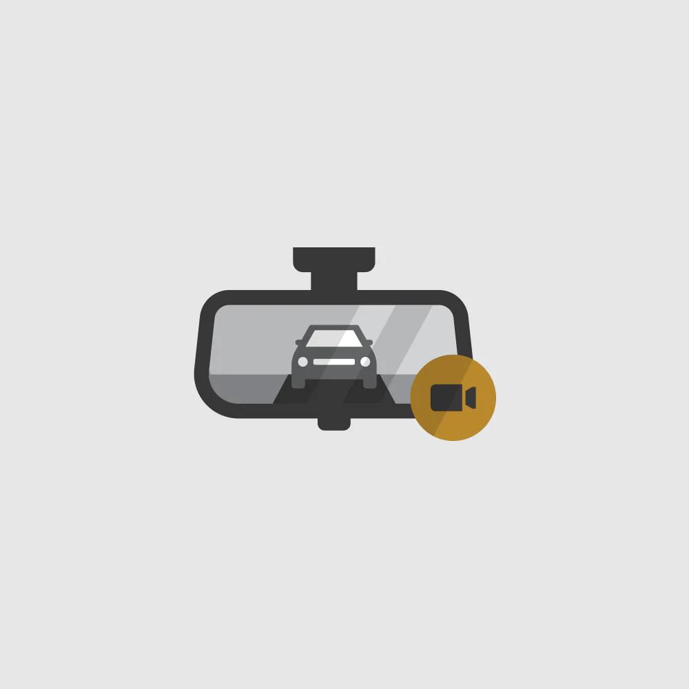 Rear Camera Mirror Icon.