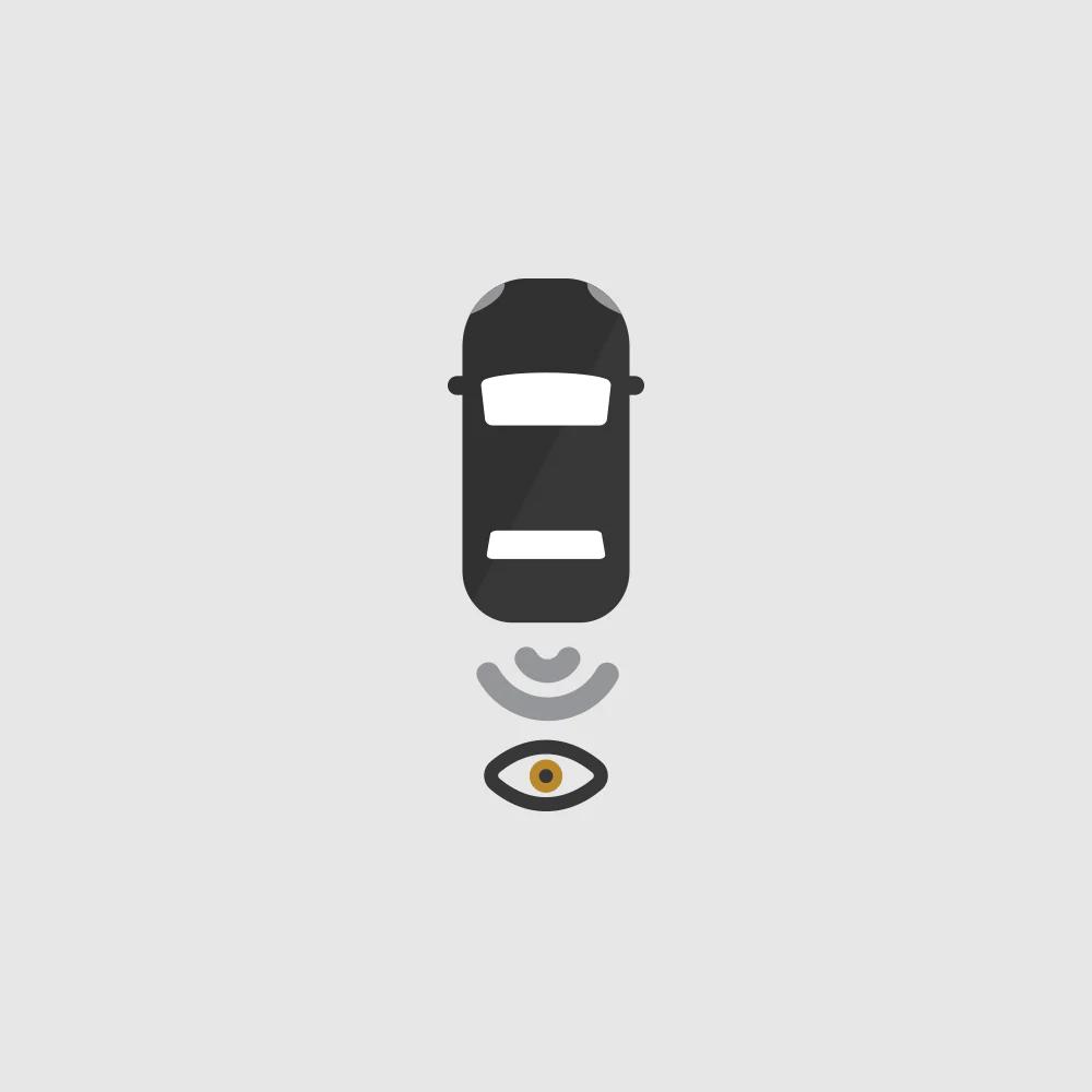 Rear Vision Camera Icon.