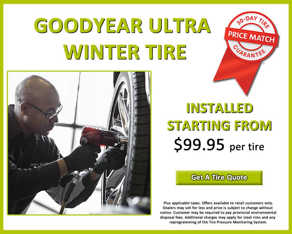 Goodyear Ultra Winter Tire