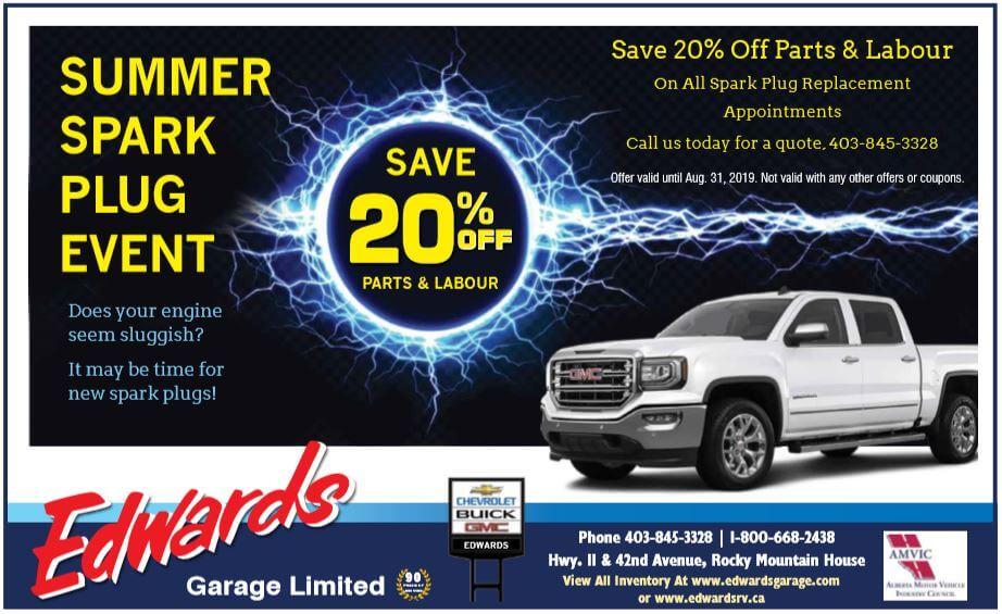 Summer Spark Plug Event