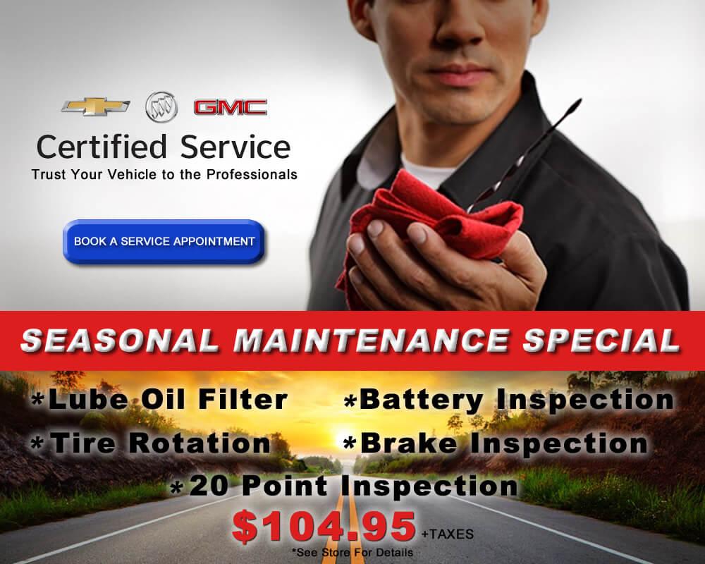 Seasonal Maintenance Special