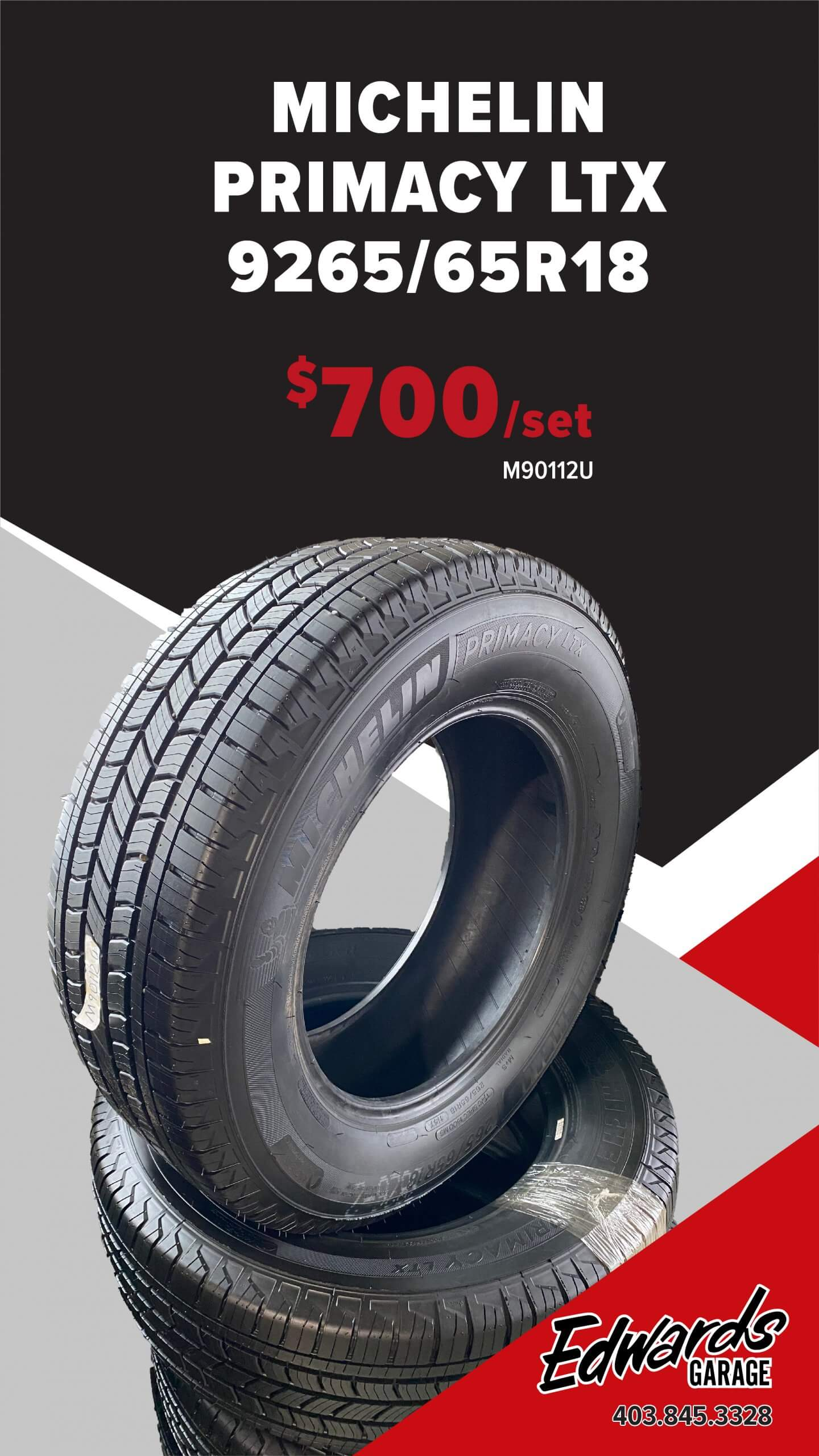 Set of Tires - Michelin