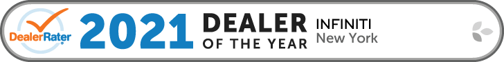 2021 Dealer of the Year - INFINITI New York - DealerRater