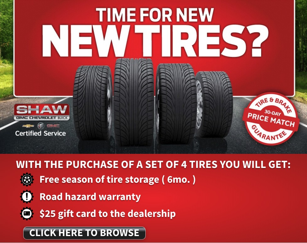 Time For New Tires?