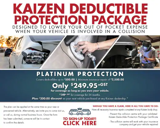 Kaizen Deductible package