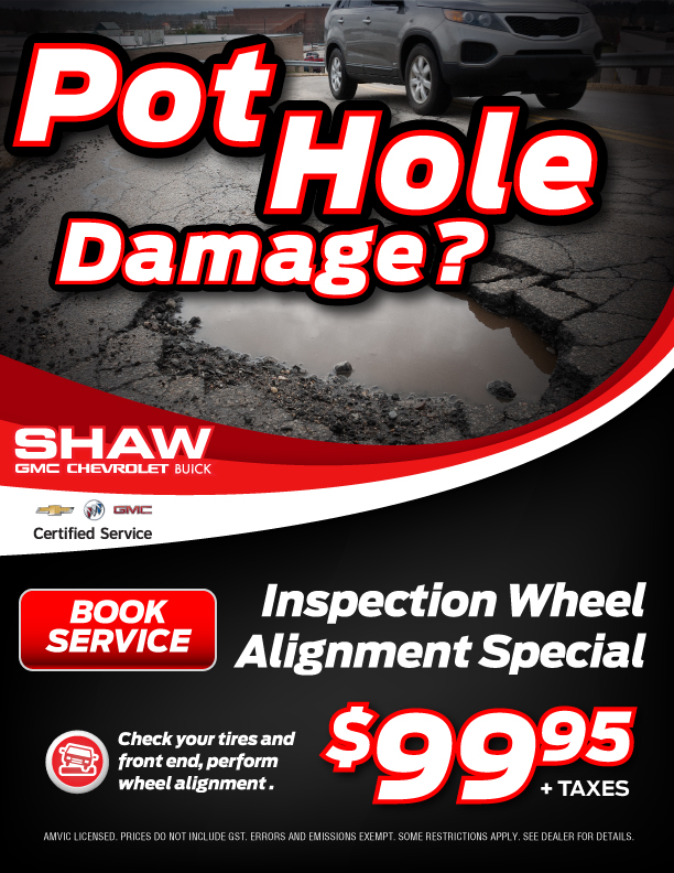 Wheel Alignment Inspection Special