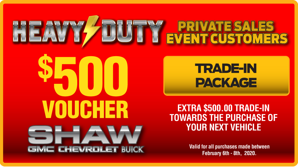 $500 Trade in Voucher