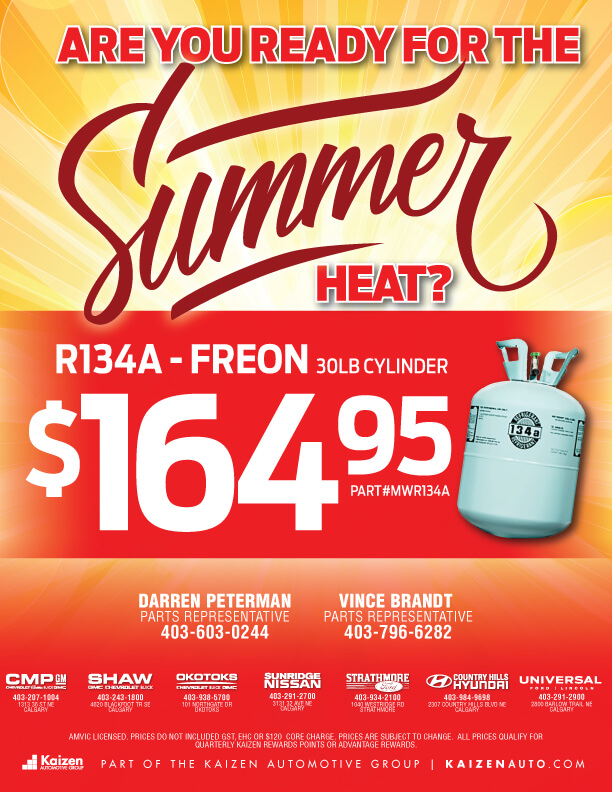 R134A-Freon Offer