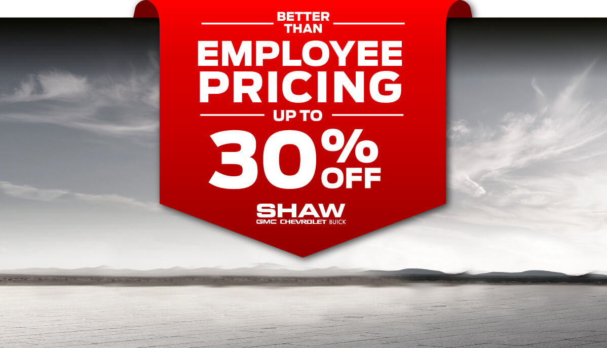 Better Than Employee Pricing