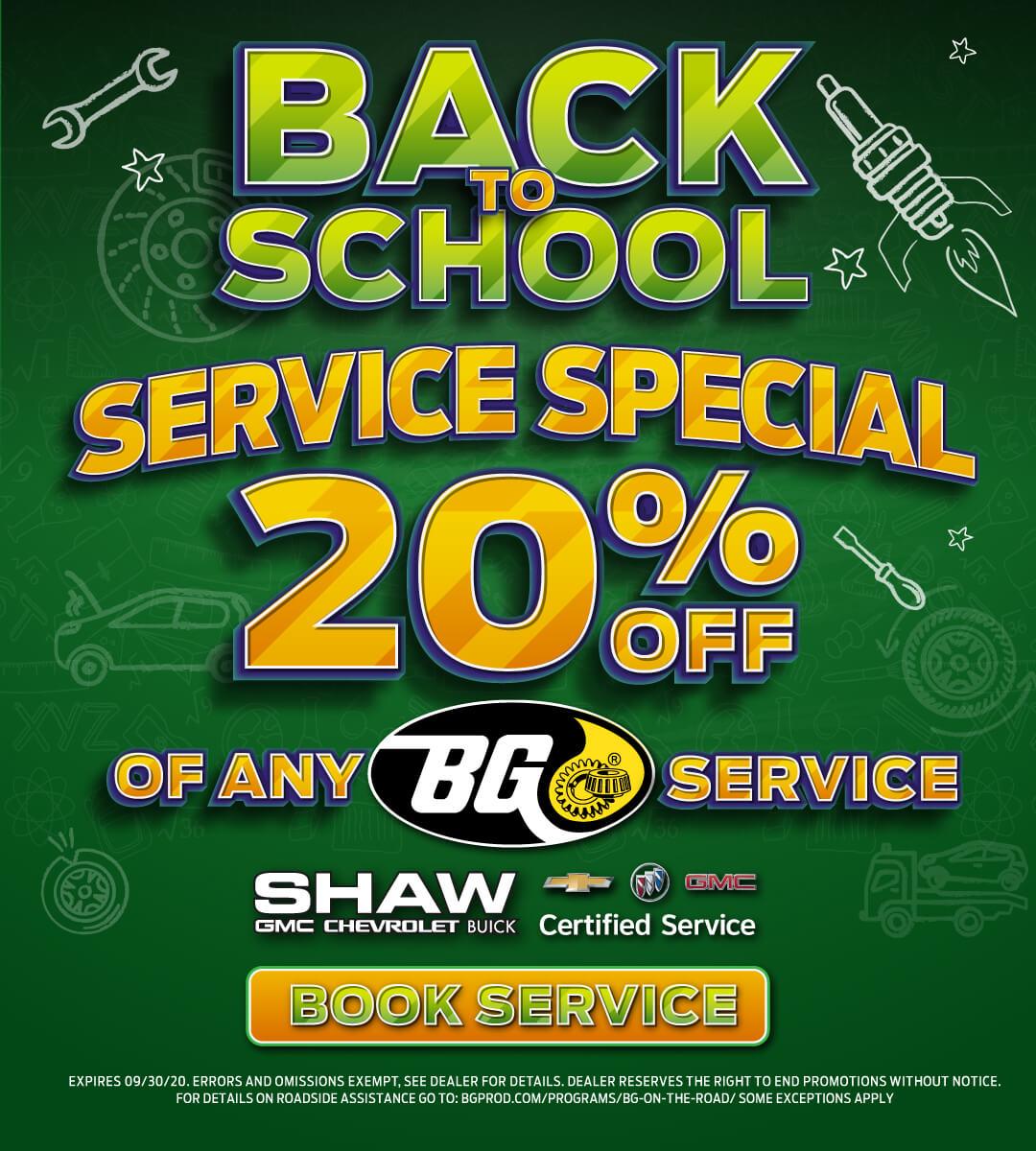 September Service Special