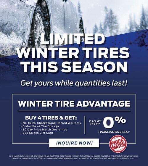 Winter tires specials