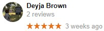 Orangeburg,SC Google Review Review