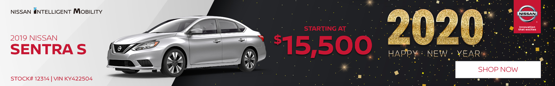 2019 Nissan Sentra S Purchase Offer