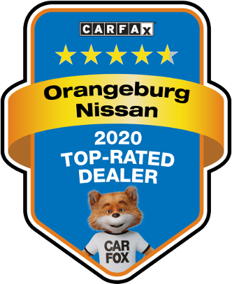 Orangeburg Nissan 2020 Top Rated Dealer