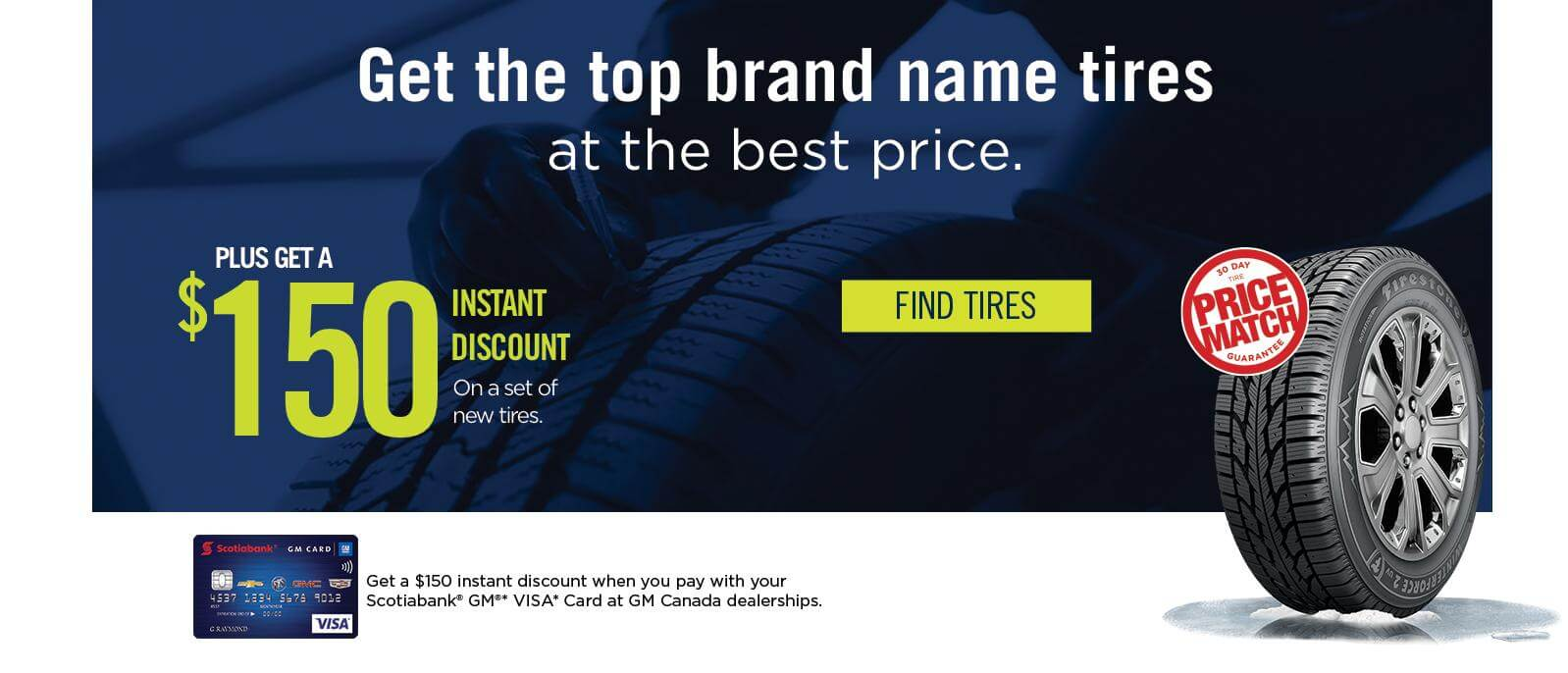 Get the top brand name tires at the best price