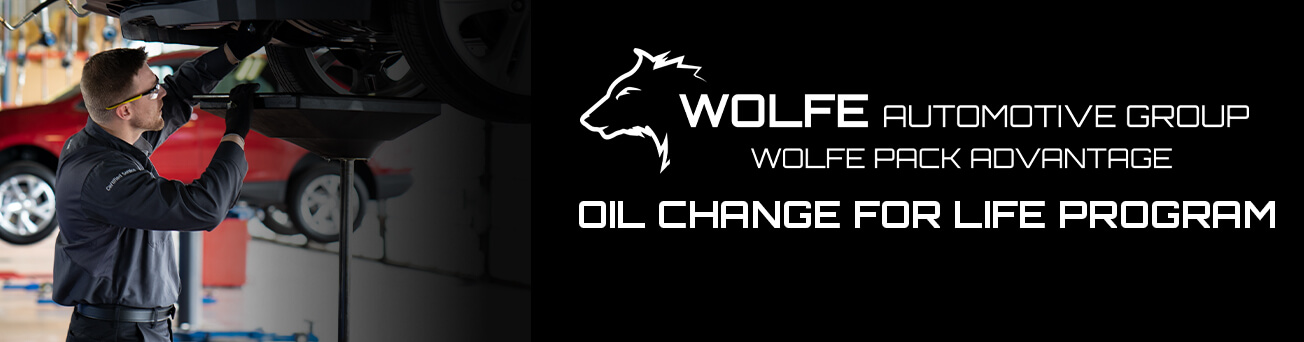 Wolfe Automotive Group Oil Change For Life