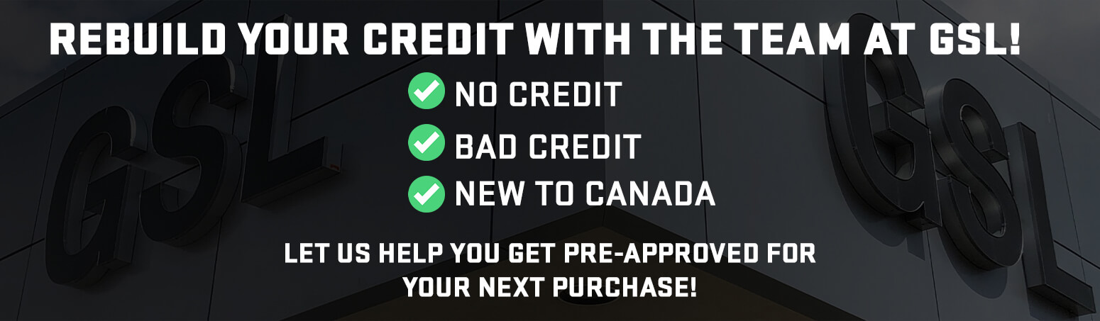 Rebuild your Credit with the Team at GSL!