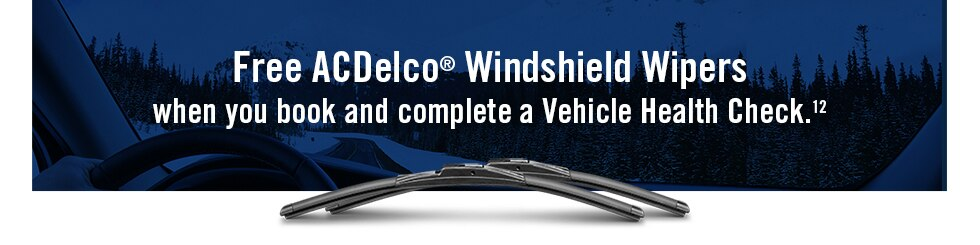 Free ACDelco Windshield Wipers