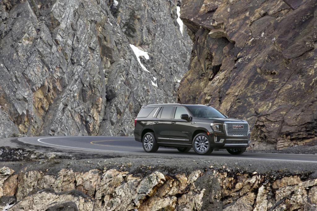 2021 Yukon in the mountains
