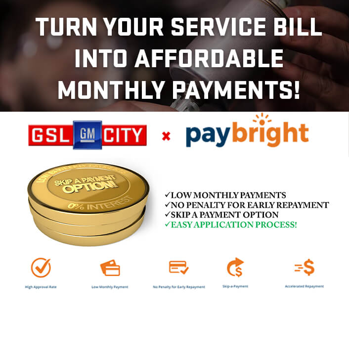 Finance Your Service Bill!
