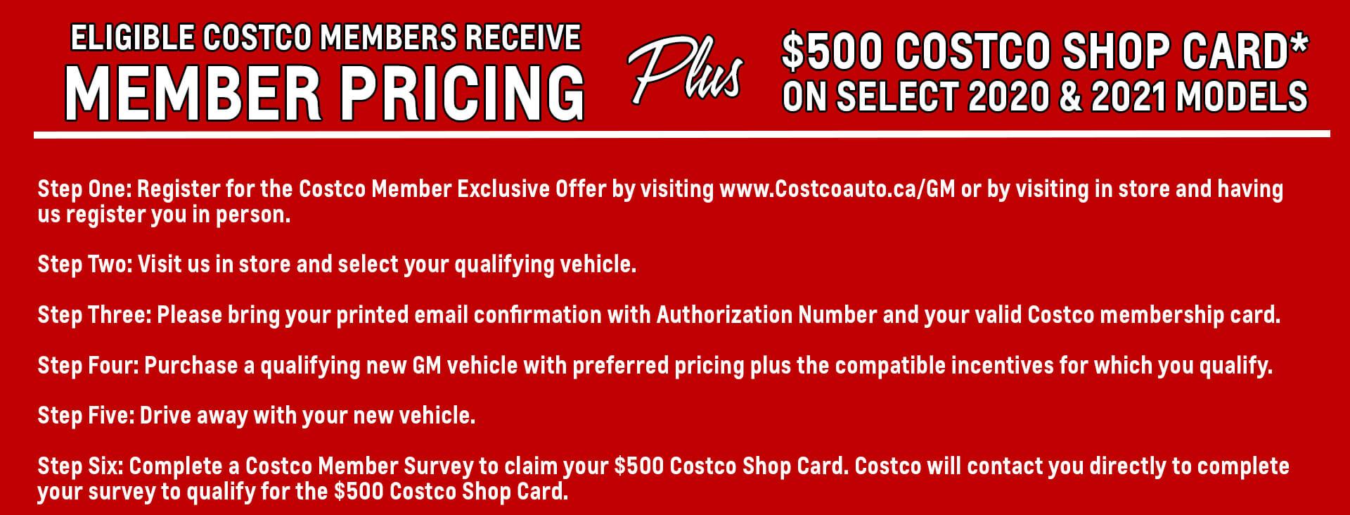Costco Member Pricing Gsl Gm City