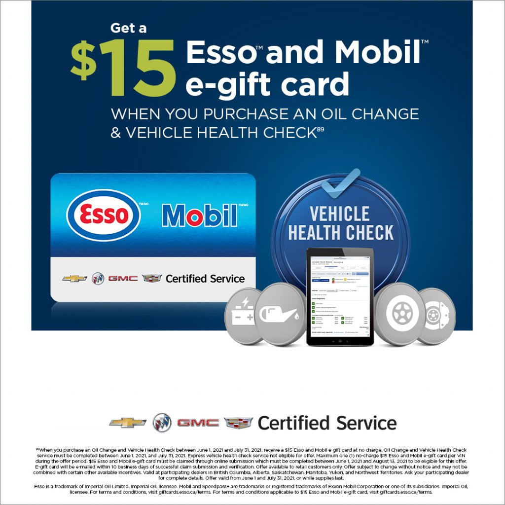 Summer Esso Mobil Gift Card