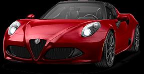 Fiat 4C Spider