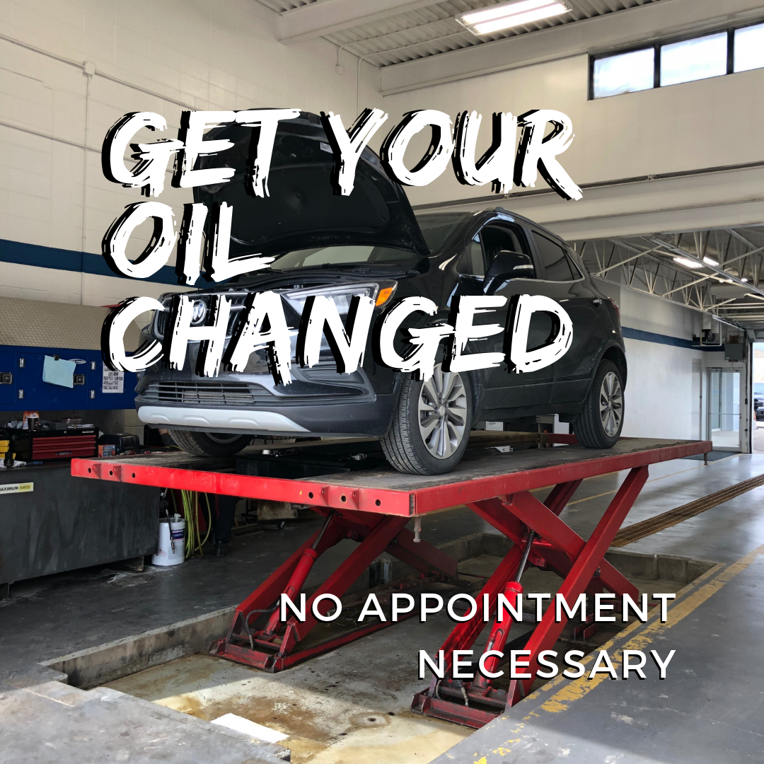 Get your oil changes - No appointment necessary