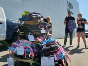 2020 back pack donations