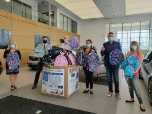 2020 donations at Wolfe Cadillac Edmonton