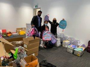 School supplies donations in 2020