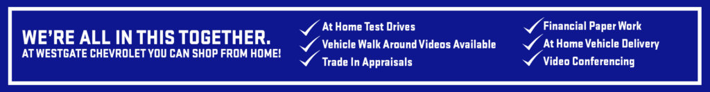 Shop from home at Westgate Chev