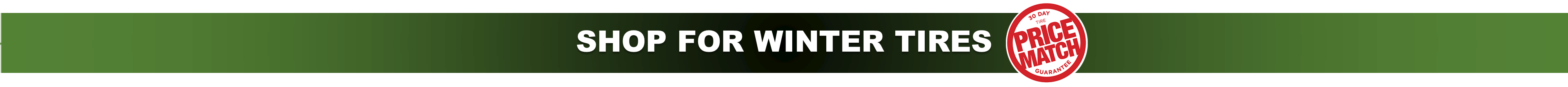 SHOP FOR WINTER TIRES